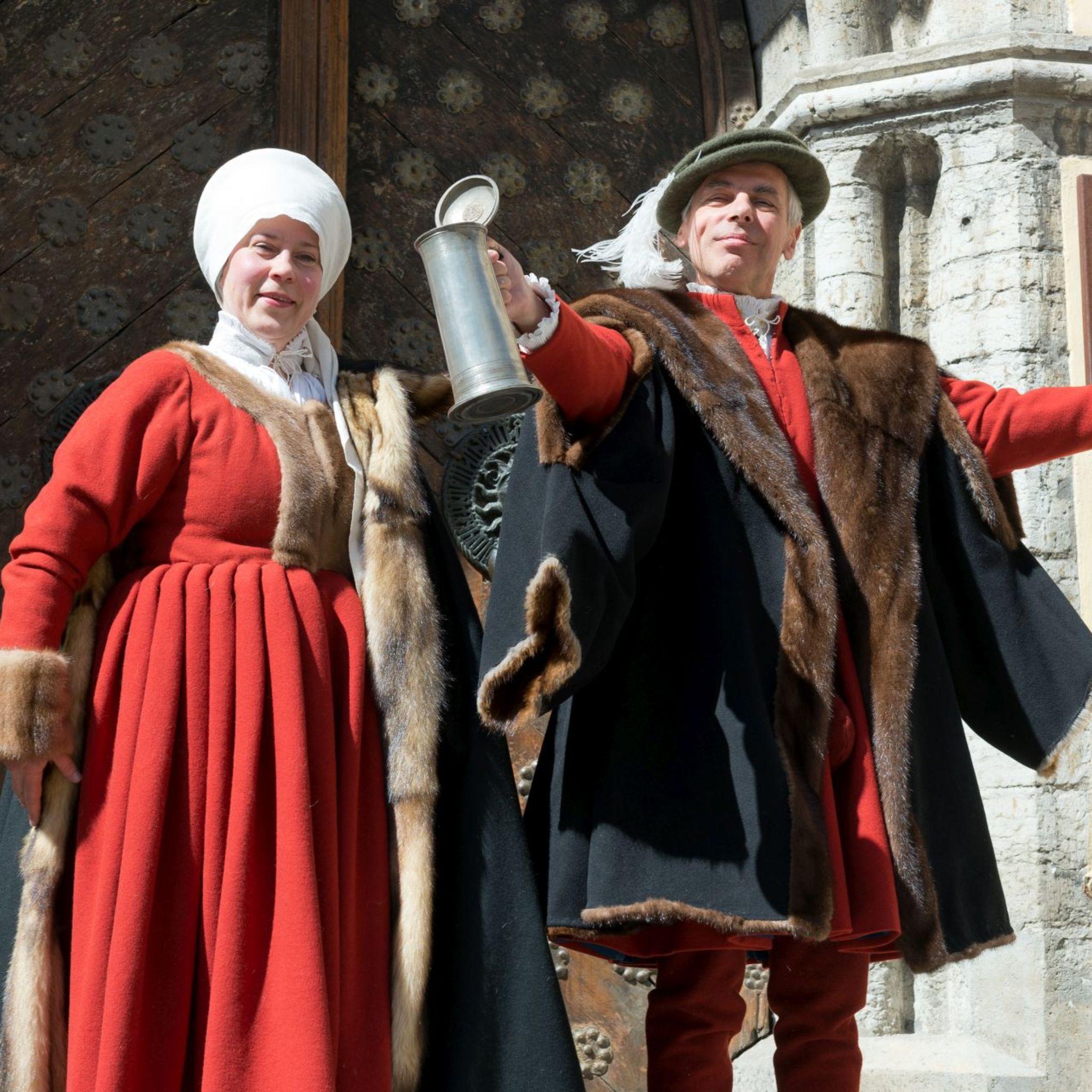 Выставка «Радости Средневековья. Празднества Большой гильдии в 15 – 16 веках»