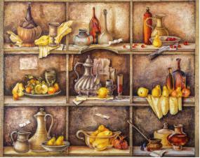 Выставка нетрадиционного натюрморта «Загляни в кухню»
